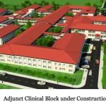 Adjunct clinical block under construction