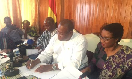 Ministry of Health and Partners Sign Aide Memoire to end 2016 Health Summit