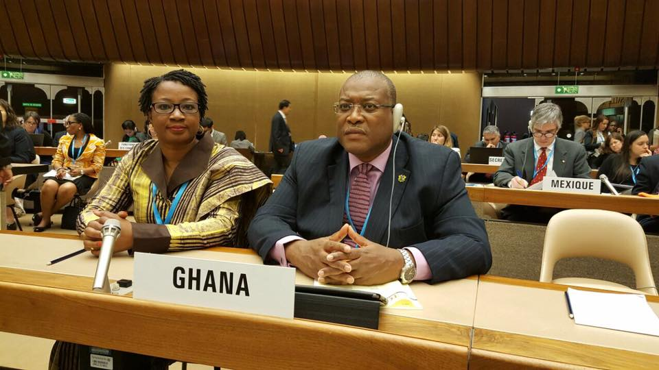 Hon. Minister & Chief Director @ World Health Assembly in Geneva