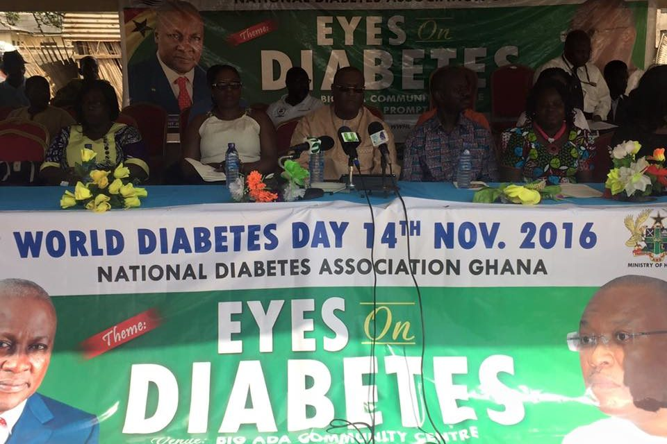 KEYNOTE ADDRESS BY THE HON. ALEX SEGBEFIA AT THE 2016 WORLD DIABETES DAY COMMEMORATION