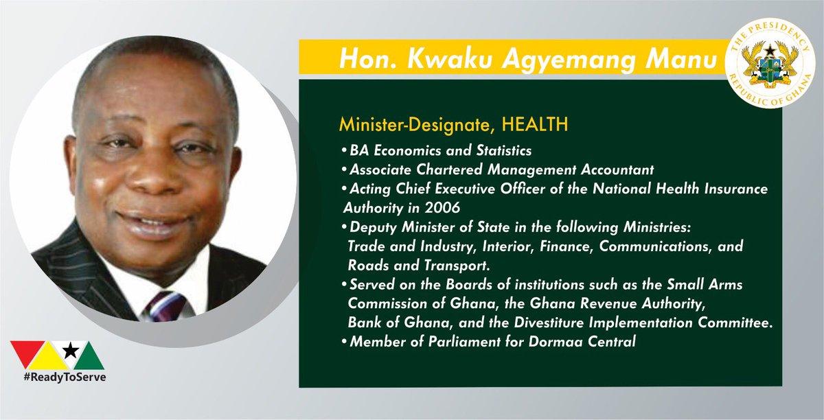 Hon. Kwaku Agyeman-Manu