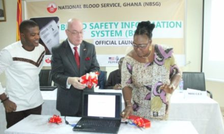 Blood Safety Information System launched in Ghana