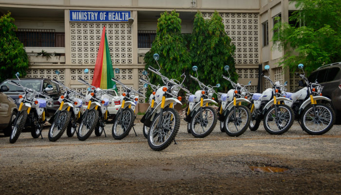 WAHO SUPPORTS MENTAL HEALTH AUTHORITY WITH MOTOR BIKES