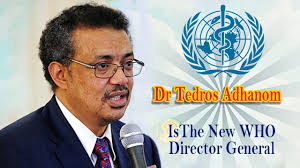 Dr Tedros takes office as WHO Director-General