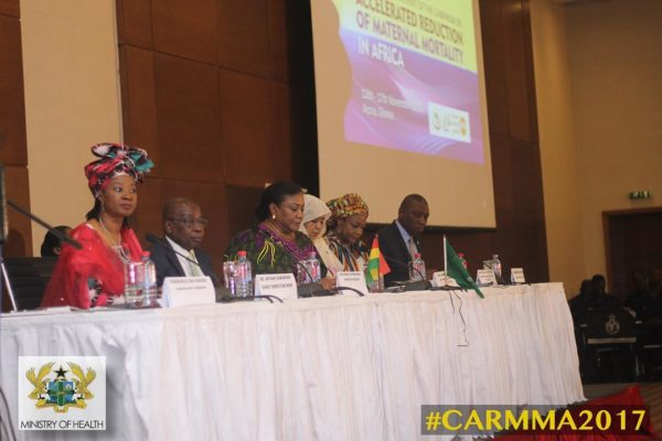 Dignitaries at the High Level Annual CARMMA Commeration