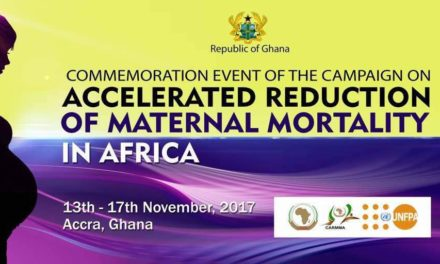 COMMEMORATION EVENT OF THE CAMPAIGN ON ACCELERATED REDUCTION OF MATERNAL MORTALITY IN AFRICA