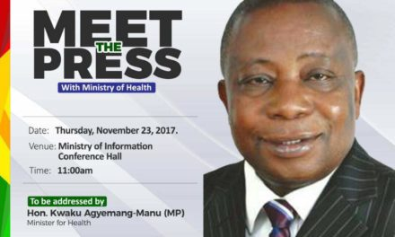 MEET-THE-PRESS WITH MINISTRY OF HEALTH
