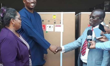 MOH Hands over 70 Anaesthetics Machines to Service Delivery Agencies under the MAF programme
