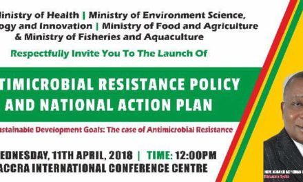Launch of Antimicrobial Resistance Policy and National Action Plan