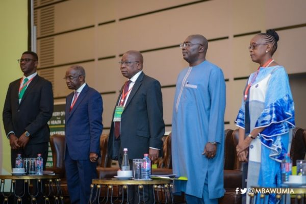 Vice President  Dr. Mahamudu Bawumia opens 2018 Health Summit