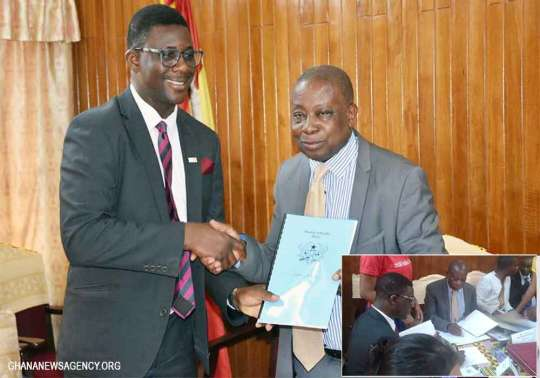 Ministry of Health/Partners signs Aide Memoire for 2018 Health Summit