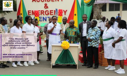 Commissioning of new A&E Centre at KBTH