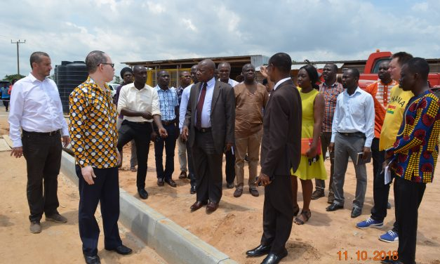 Minister of Health Tours Polyclinic Sites at Greater Accra