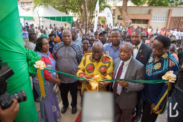 President Akufo-Addo commissioned new National Reconstructive Plastic Surgery and Burns Centre (NRPSBC) Complex