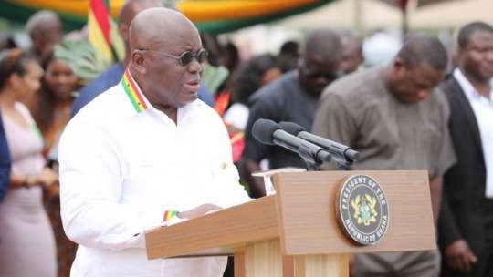 RE:MISINFORMATION FROM THE PRESIDENT OF THE REPUBLIC OF GHANA