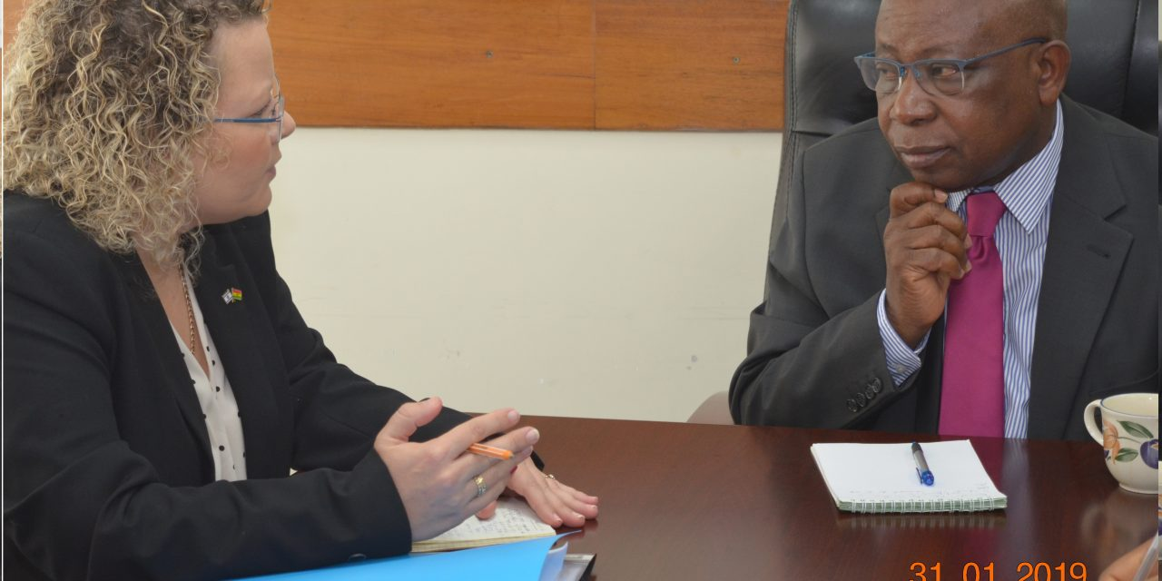 Israelite Embassador to Ghana pays a courtesy call on Hon. Kwaku Agyeman-Manu