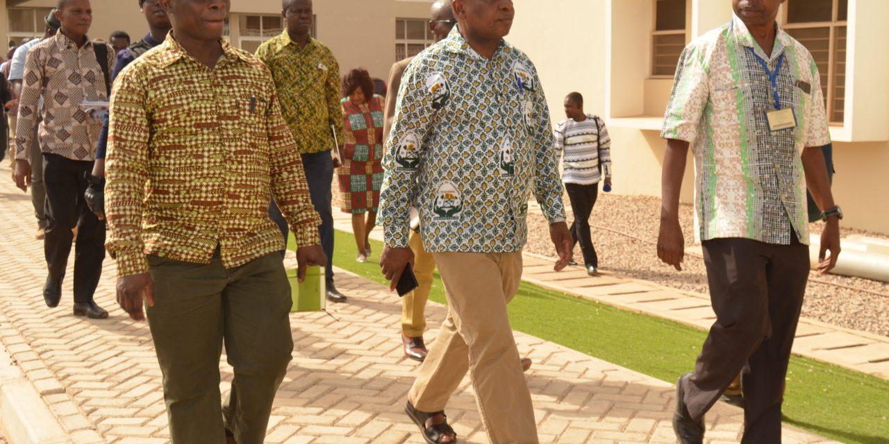 Minister for Health visits health facilities in Upper East Region
