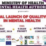 NATIONAL LAUNCH OF NATIONAL QUALITYRIGHTS ON MENTAL HEALTH