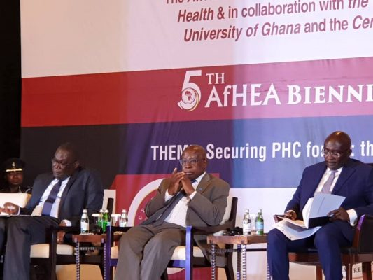 5th Scientific Conference of the African Health Economics and Policy Association (AfHEA) opens in Accra