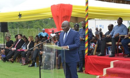 Vice President launches Ghana's drone delivery service at Omenako