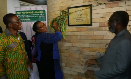 MoH and GHS inaugurate Health Promotion Division