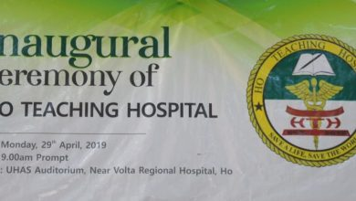 Photo of Inaugural ceremony of Ho Teaching Hospital