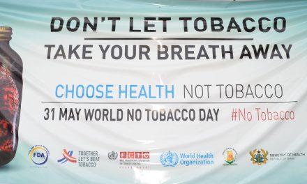 WORLD NO TOBACCO DAY – 31st MAY 2019