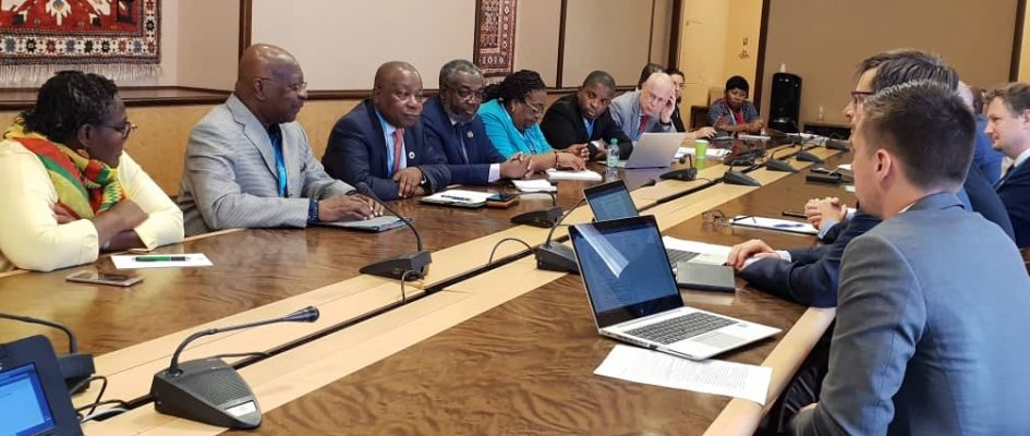 GHANA HOLDS BILATERAL MEETING WITH SDG - GLOBAL ACTION PLAN TEAM