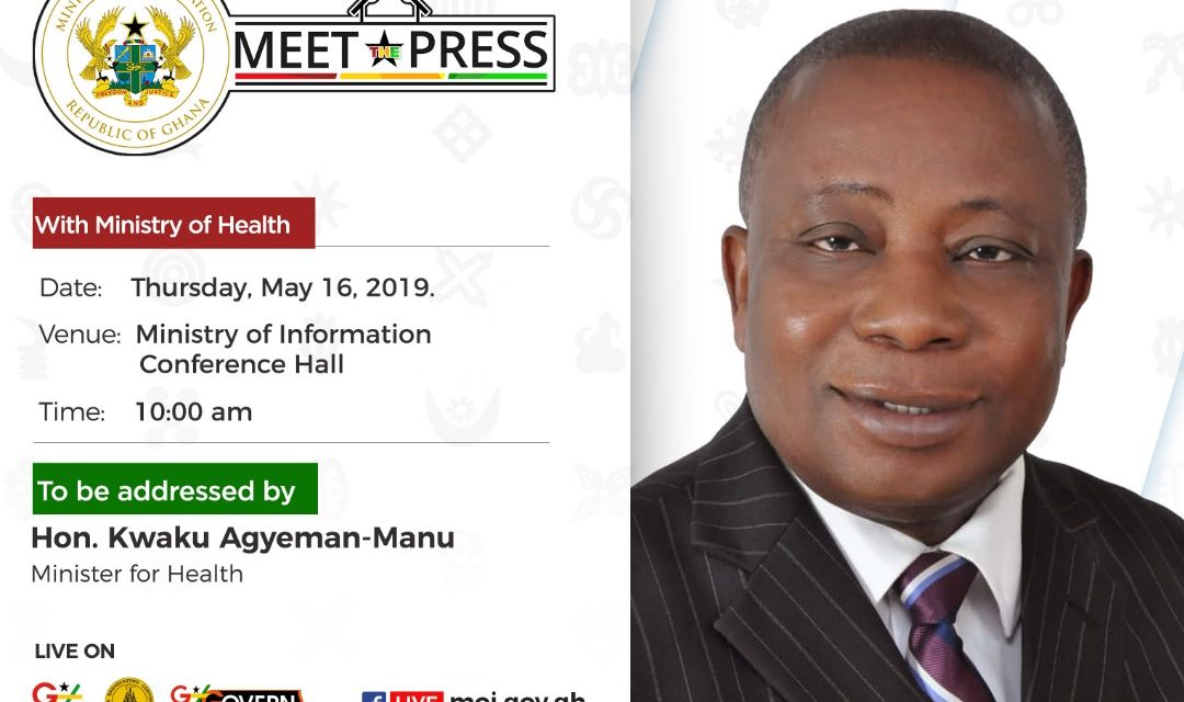 Meet the Press – Minister for Health