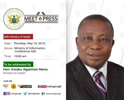 Meet the Press - Minister for Health