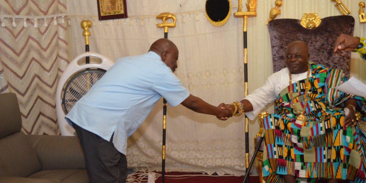 Hon. Agyeman-Manu calls on Awoamefia
