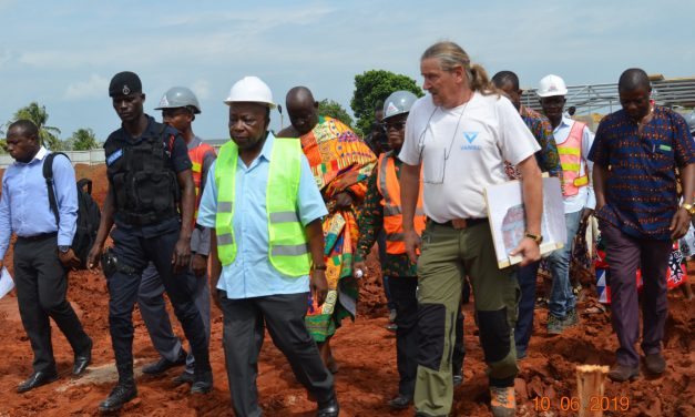 Health Minister Tours Health Facilities in the Volta Region