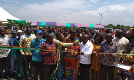 Health Minister Commissioned Polyclinic at Sege, Ada West District
