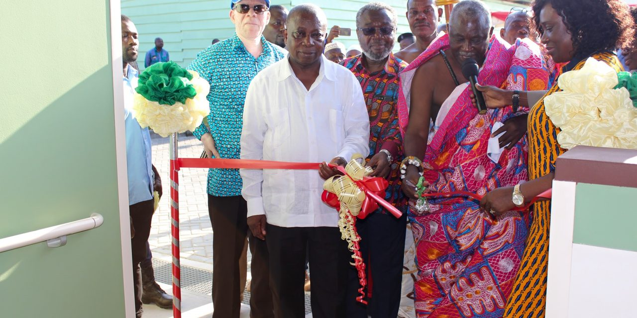 Health Minister commissioned Ogbojo Polyclinic