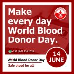 World Blood Donor Day – 14th June 2019