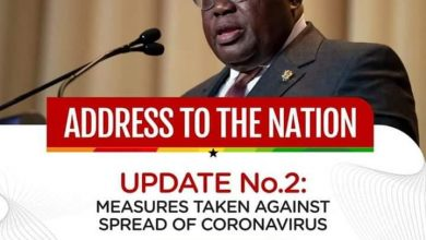 Photo of President Akufo-Addo Addresses Nation On Measures Taken By Gov't To Combat The Coronavirus Pandemic