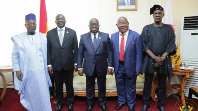 Photo of President Akufo-Addo Meets Leadership Of Parliament Over Coronavirus Pandemic