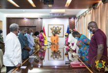 Photo of President Akufo-Addo Inaugurates Board Of Trustees For The Covid-19 National Trust Fund