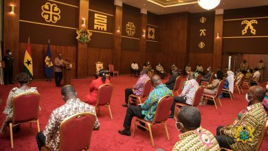 "Photo of ""COVID-19 fight: Stand Up for Ghanaians"" – Pres. Akufo-Addo to Medical Doctors"