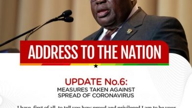 Photo of Address to the nation 6: Pres. Akufo-Addo on Covid 19