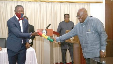 Photo of President swears in Okoe Boye as Deputy Minister of Health