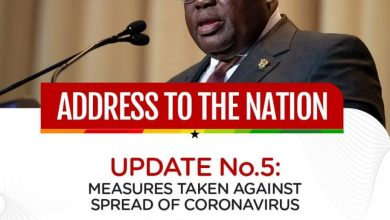 Photo of Address to the nation 5: Pres. Akufo-Addo