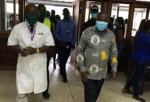 Photo of Health Minister Tours Covid-19 Facilities