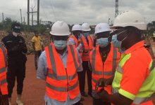 Photo of Health Minister tours project sites in Ashanti Region