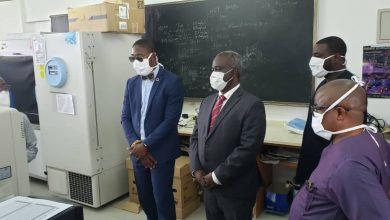 Photo of Deputy Health Minister tours Covid-19 facilities in Volta Region