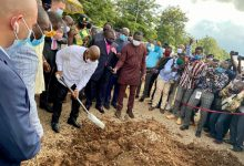 Photo of President Akufo-Addo Cuts Sod For €70 Million Eastern Regional Hospital