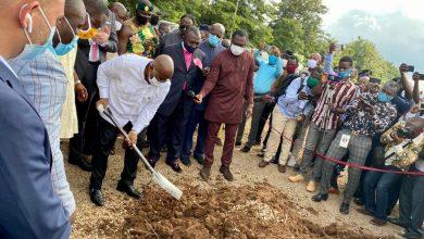 Photo of President Akufo-Addo Cuts Sod For €70 Million Eastern Regional Hospital