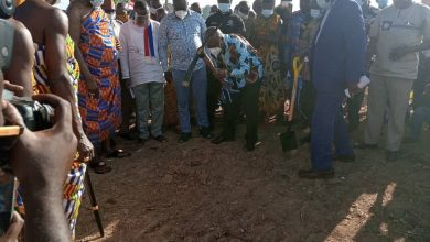 Photo of Health Minister breaks grounds for hospital projects in Ashanti Region