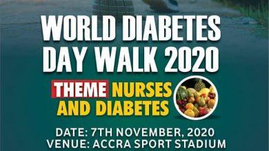 Photo of World Diabetes Day Walk 2020